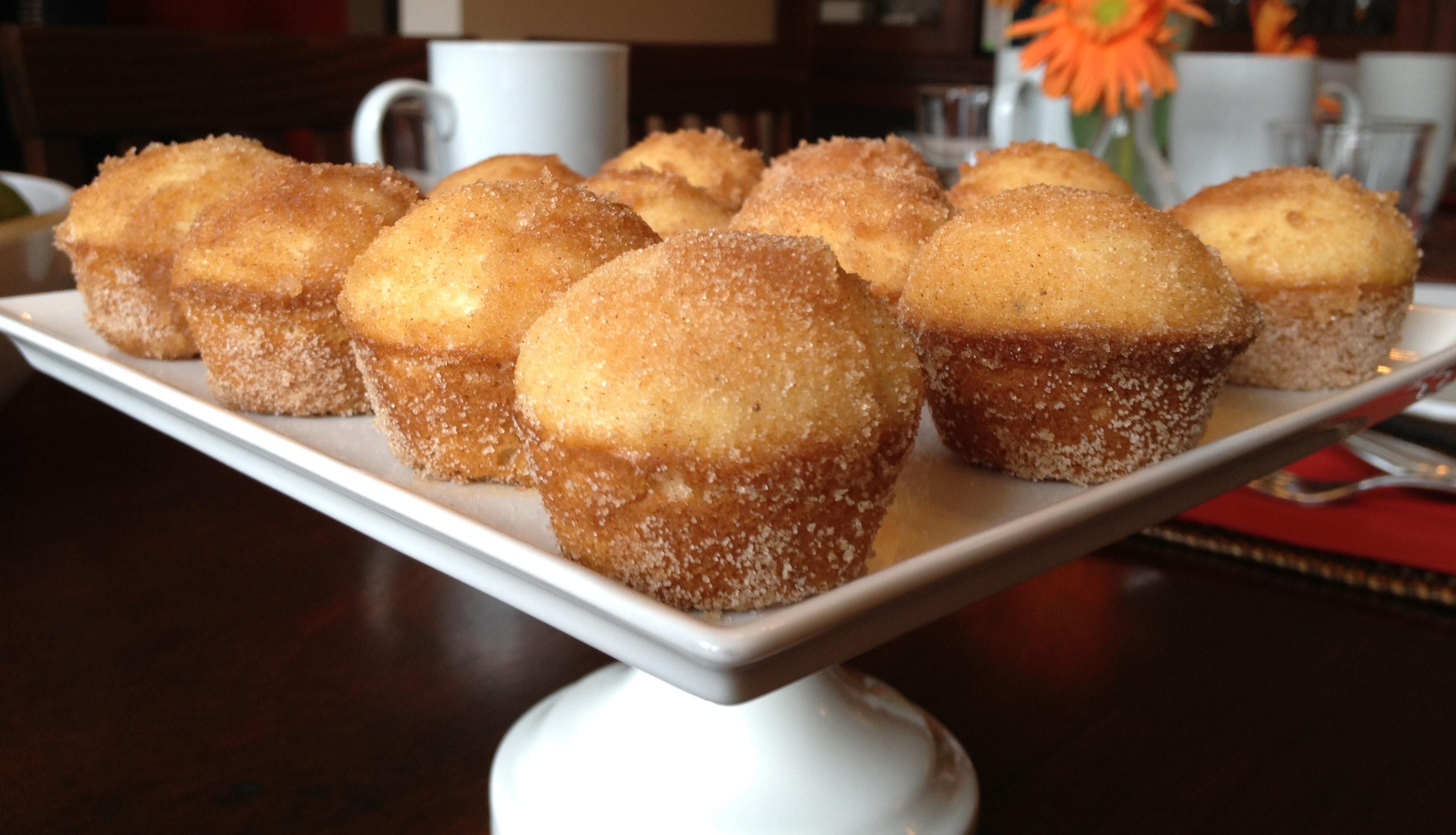 cinnamon sugar donut muffins. | Megan Opel Interiors