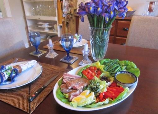Deconstructed Tuna Niçoise Salad
