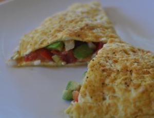 Guacamole Omelet