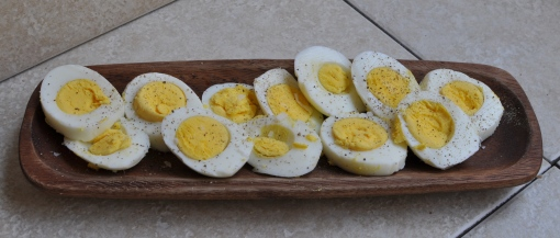 Perfect Hard-Boiled Eggs and #CookingPlanit T-Fal Cookware Giveaway #peachesandcake